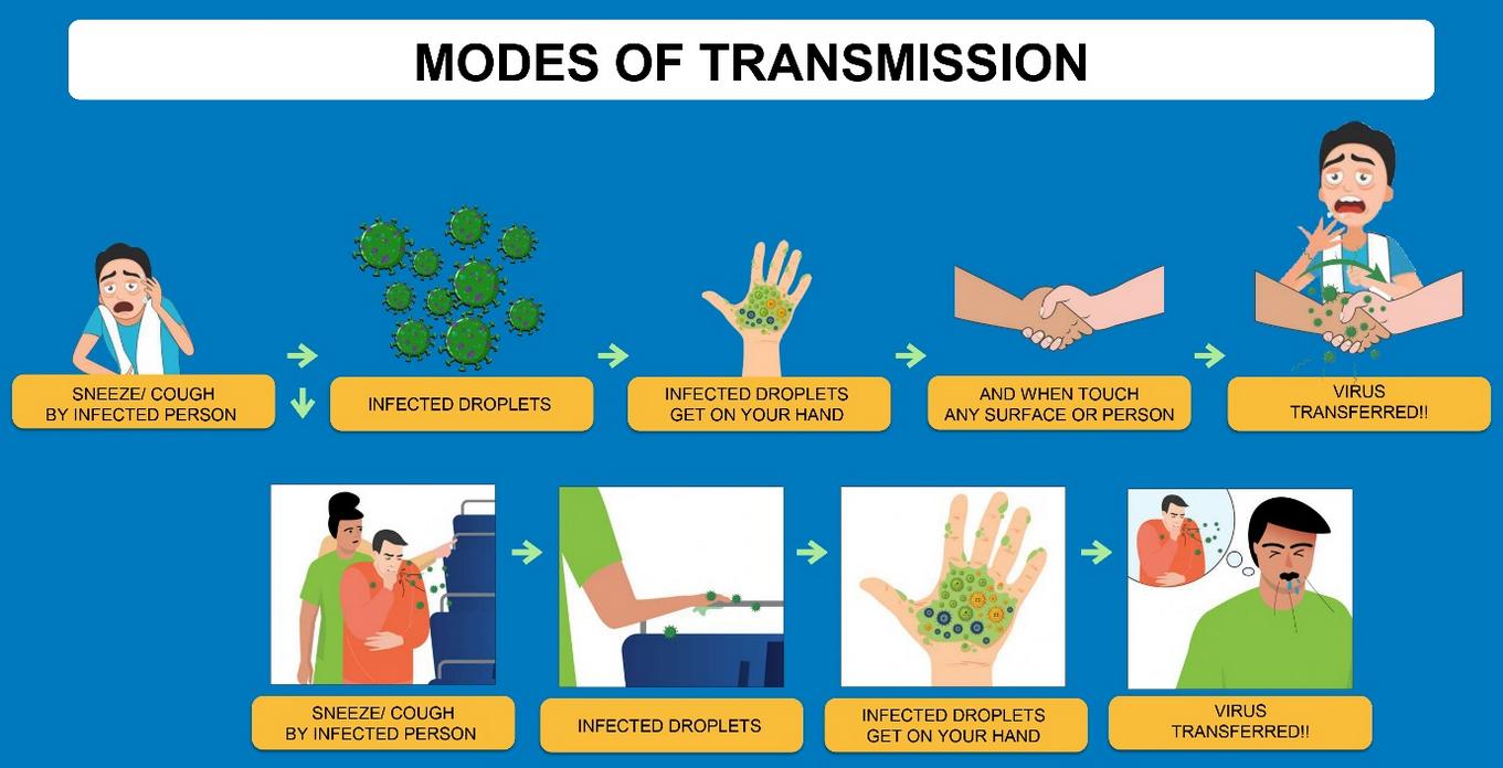 Transmission of covid